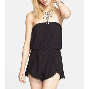 Free People Tahlia Lace Romper